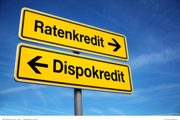 Ratenkredit versus Dispokredit