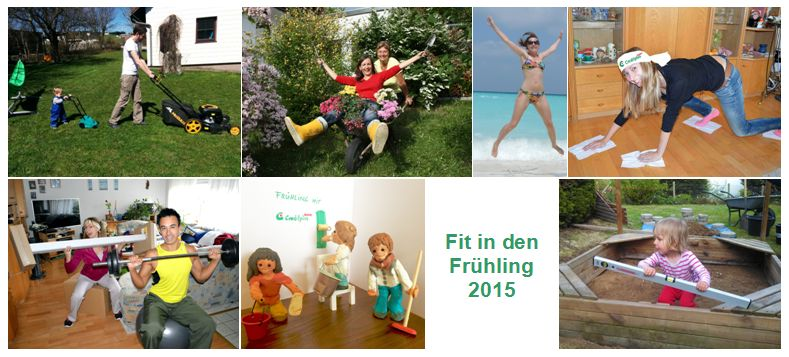 Gewinnerfotos Fit in den Fruehling